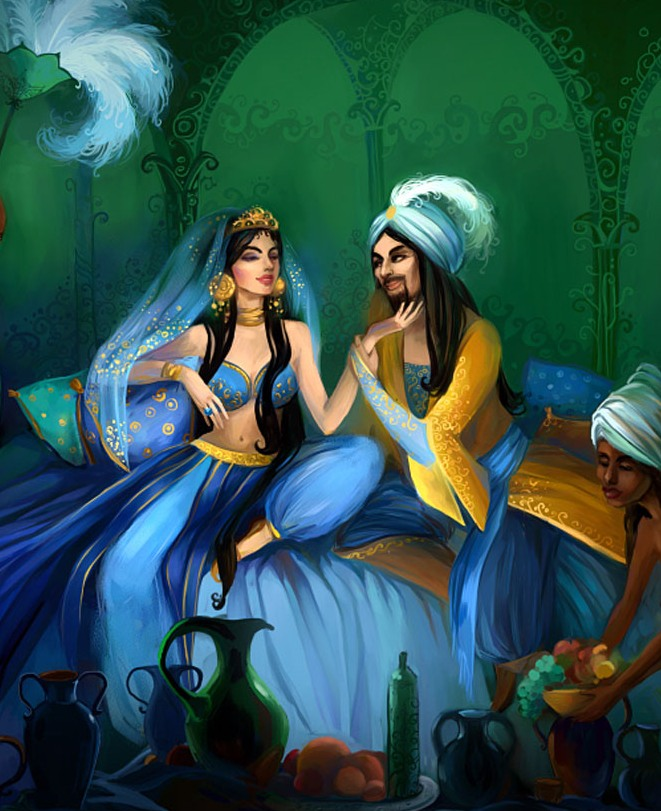 картинки из восточных сказок